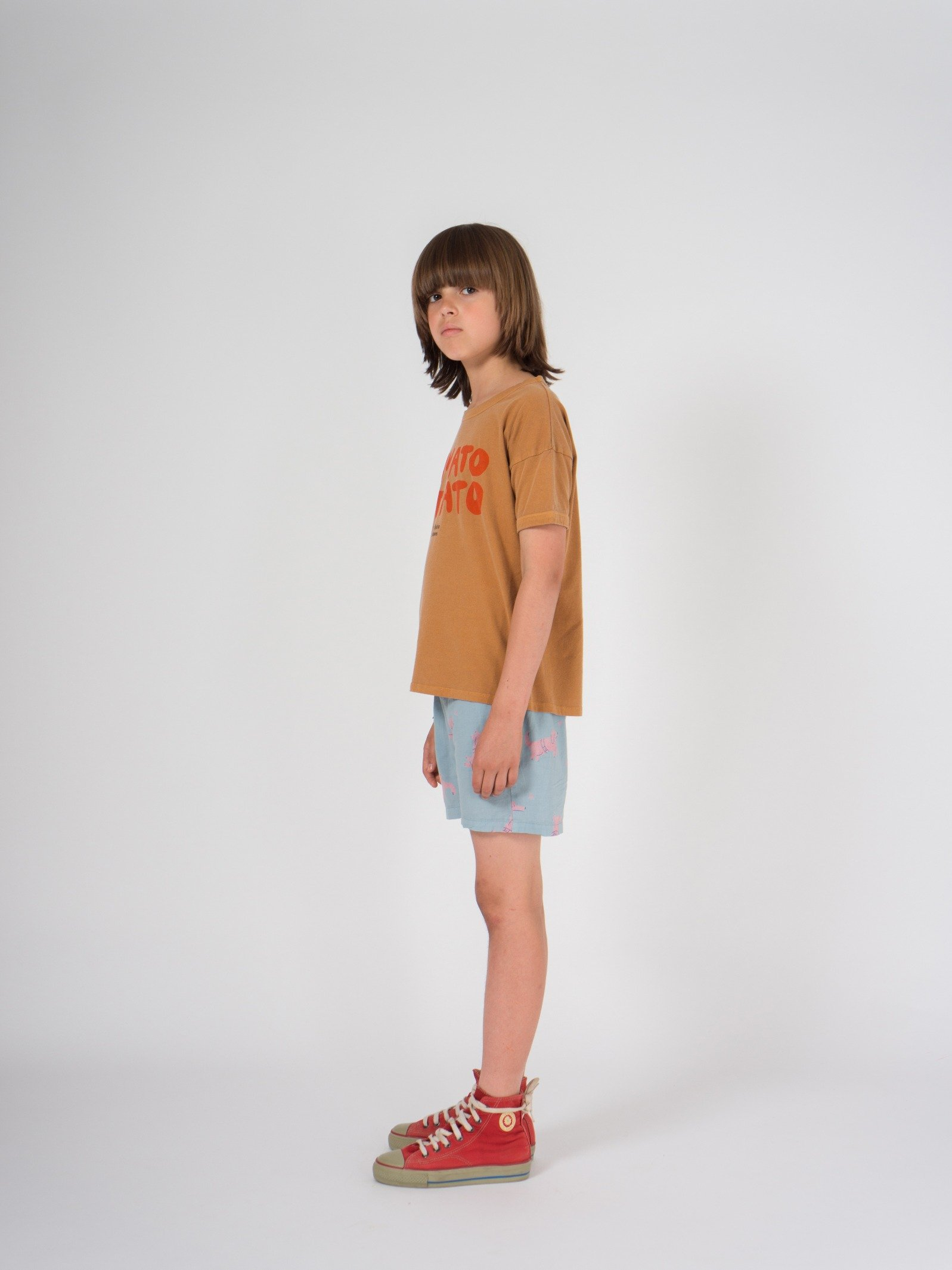 Kid Tomato Potato Short Sleeve T-Shirt Look