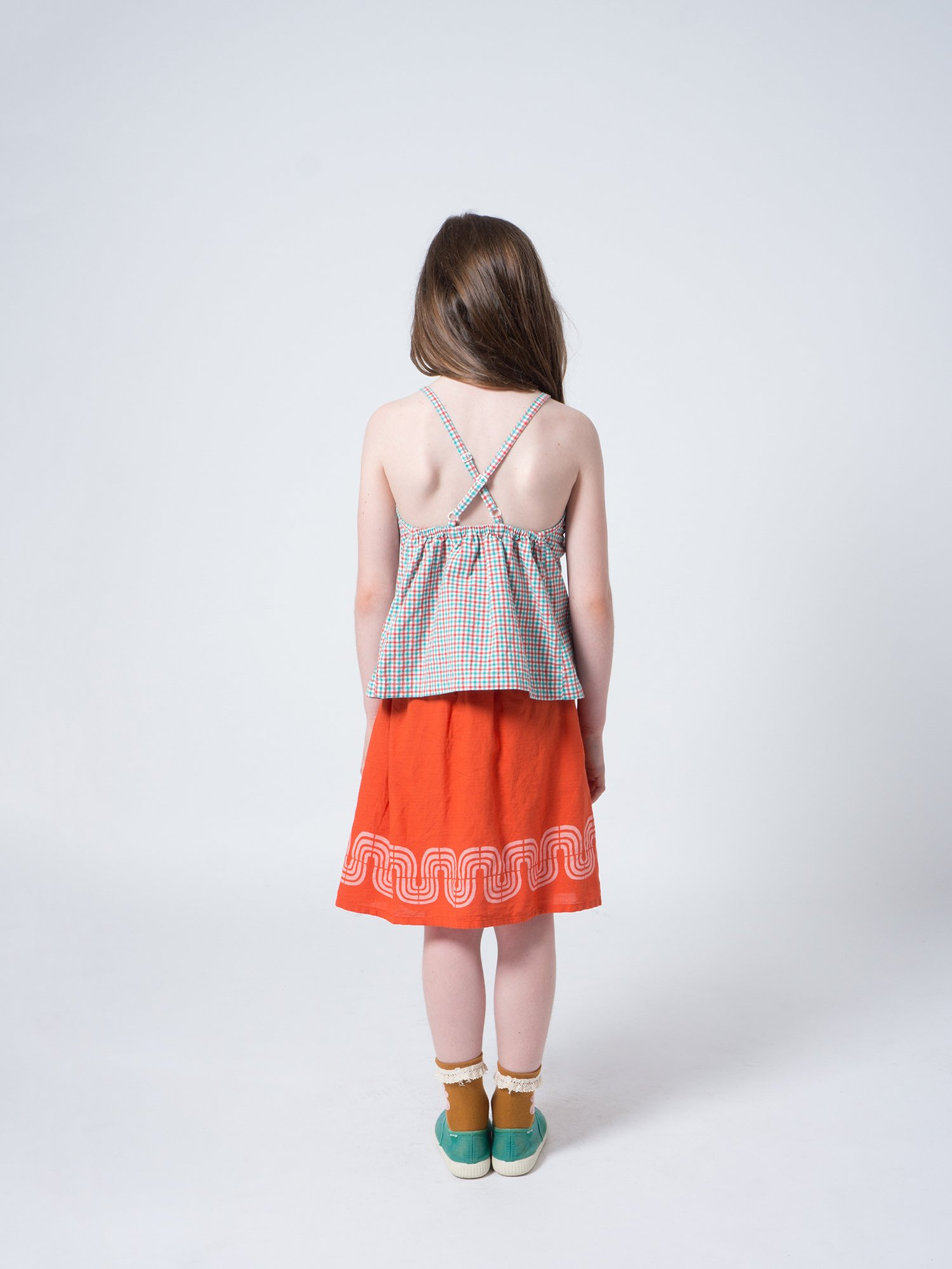 Kid Road Flared Skirt Look