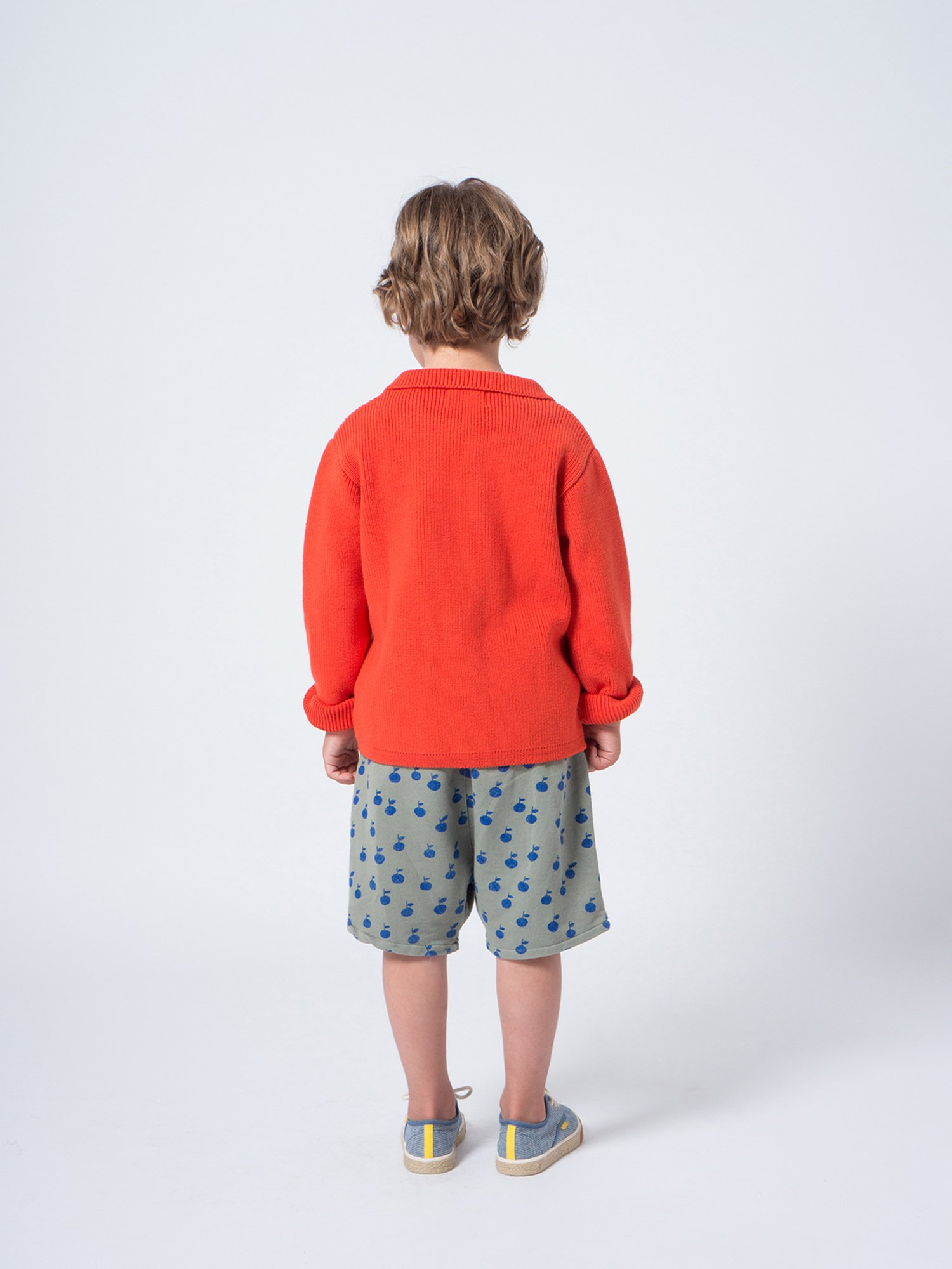 Kid Animals Cardigan Look