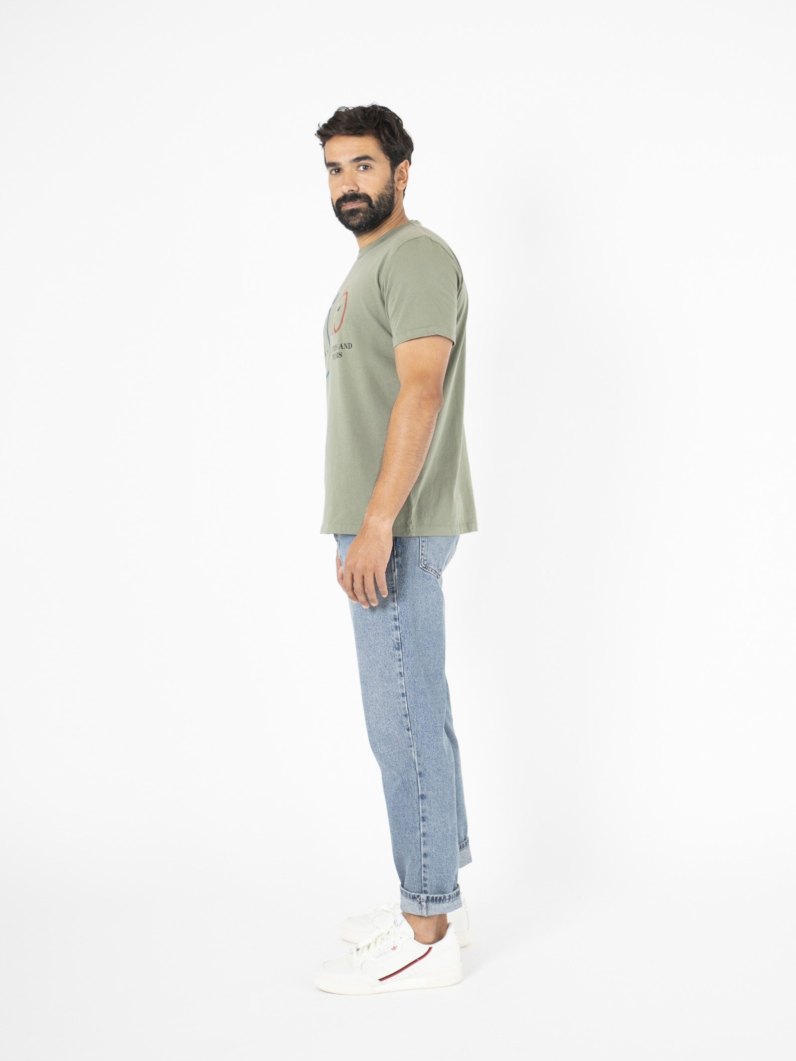 Man Apples And Pears Short Sl T-Shirt Look