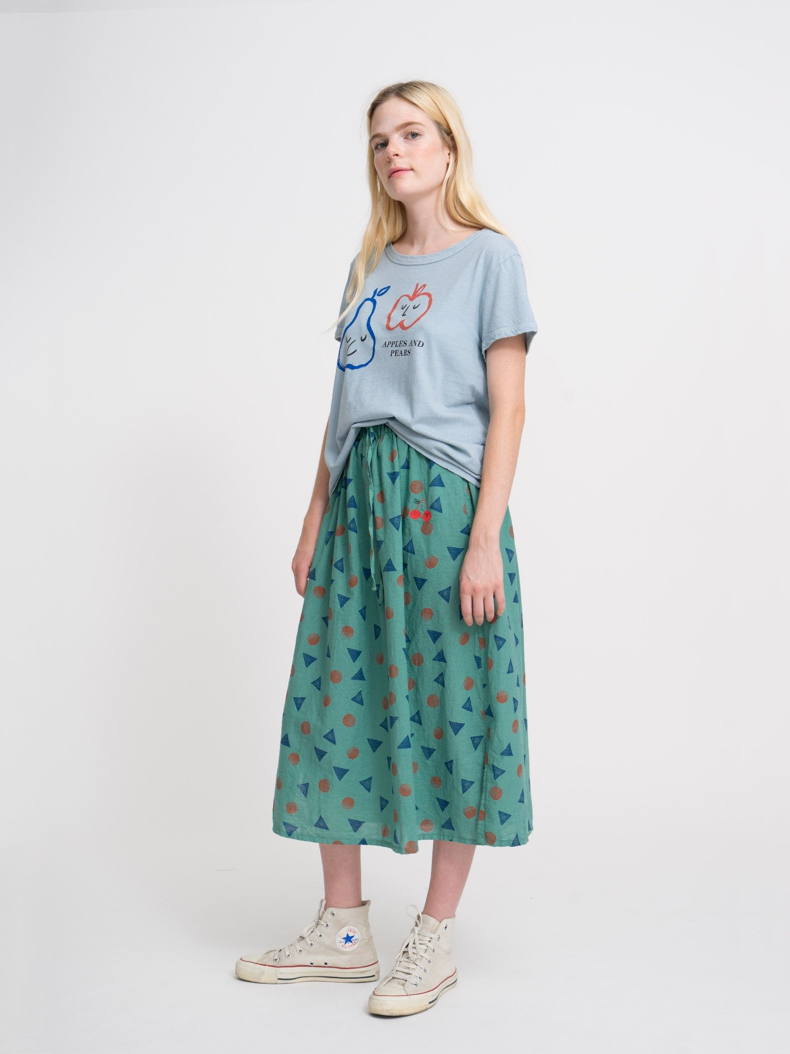 Woman Apples And Pears Short Sl T-Shirt Look