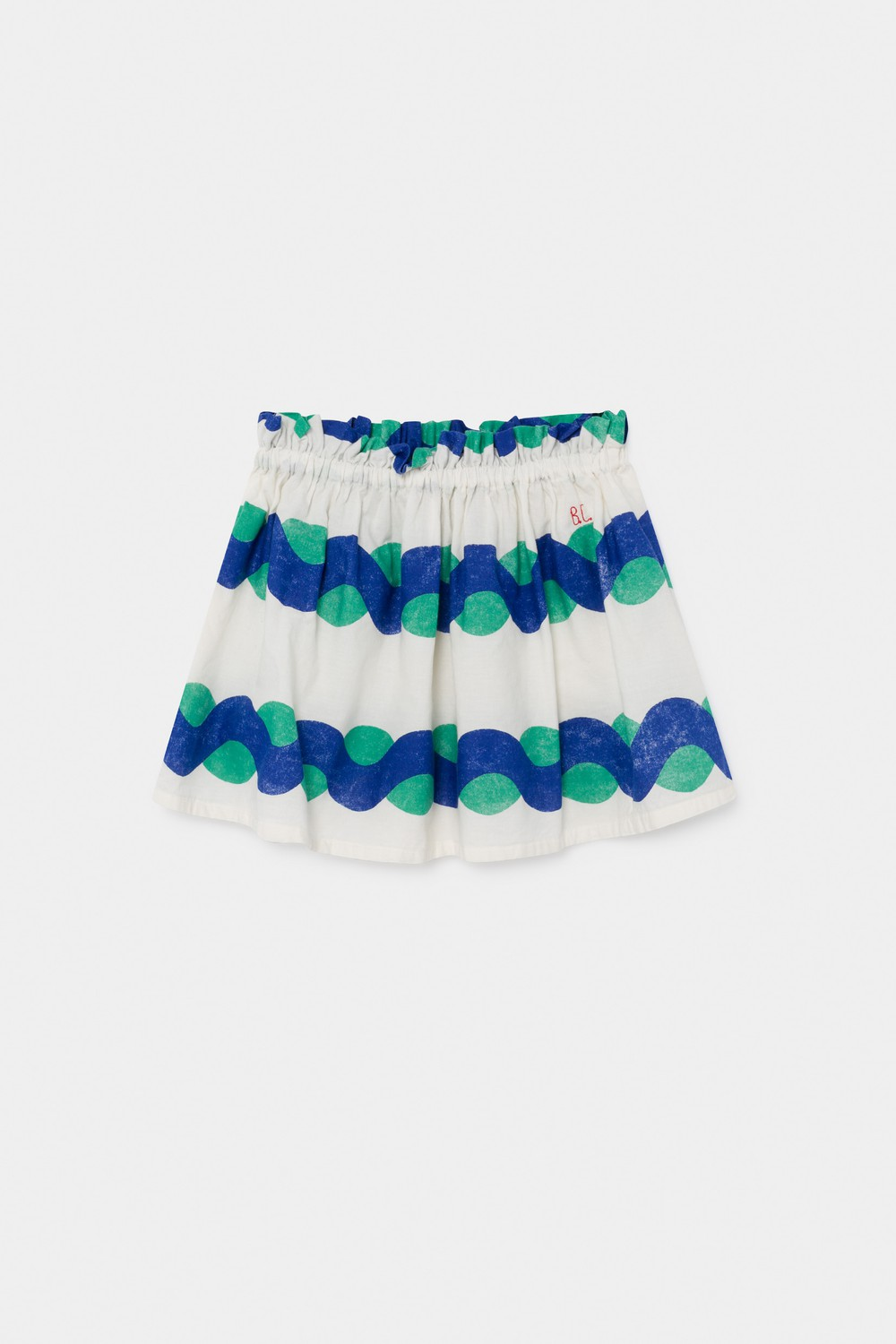 All Over Sea Flared Skirt