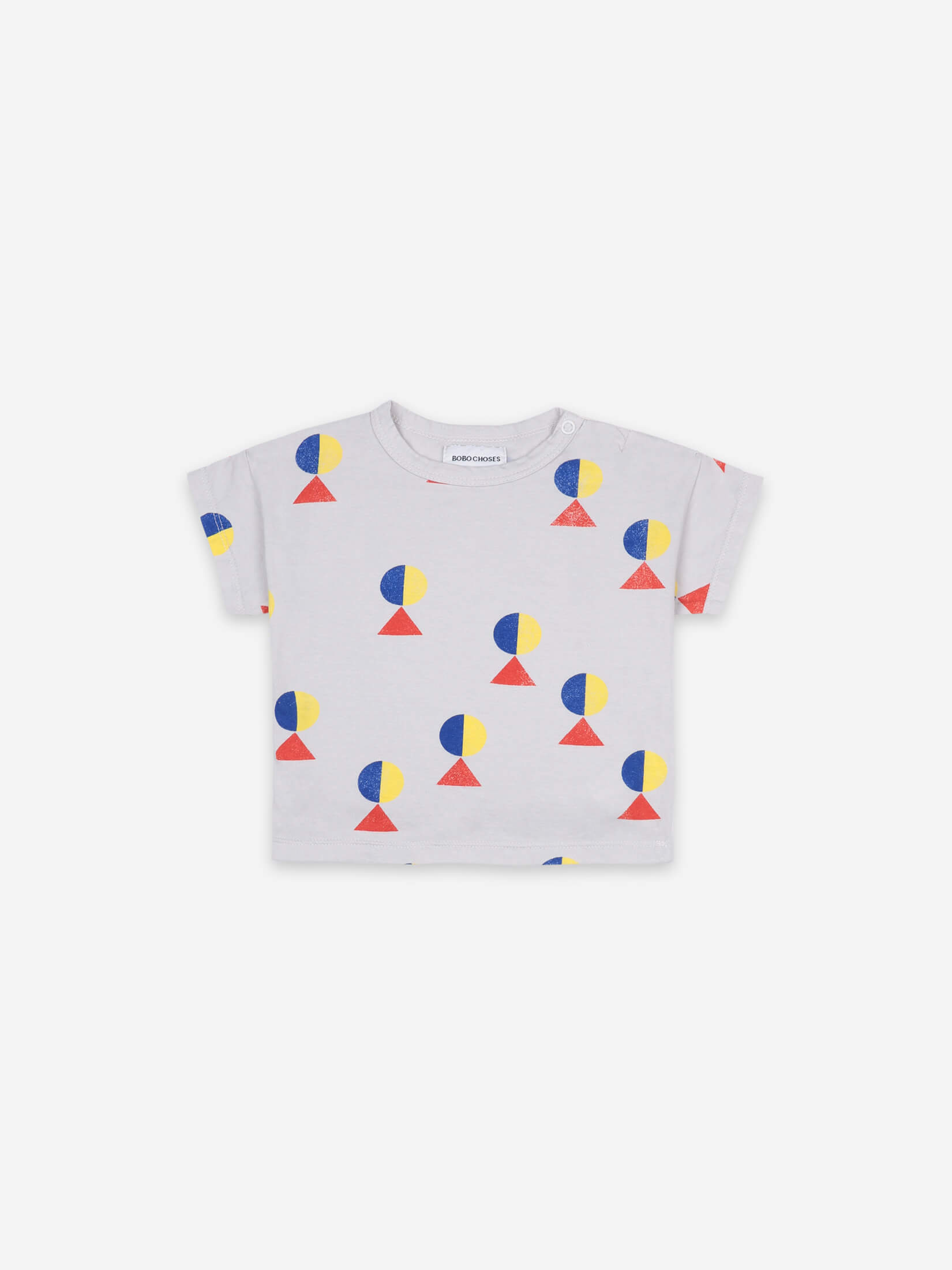 Geometric All Over Short Sleeve T-shirt