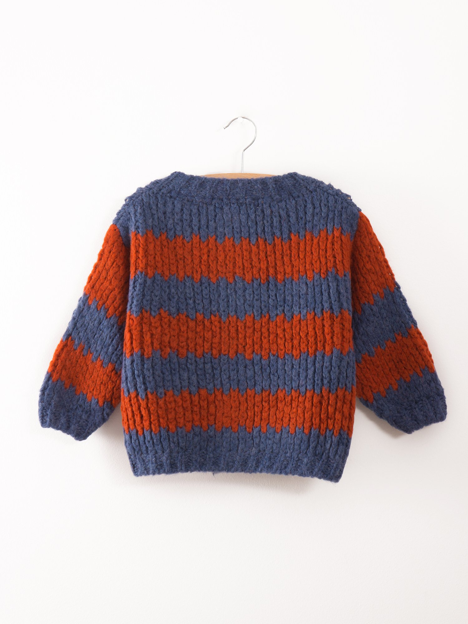 Baby Knitted Cardigan Stripes