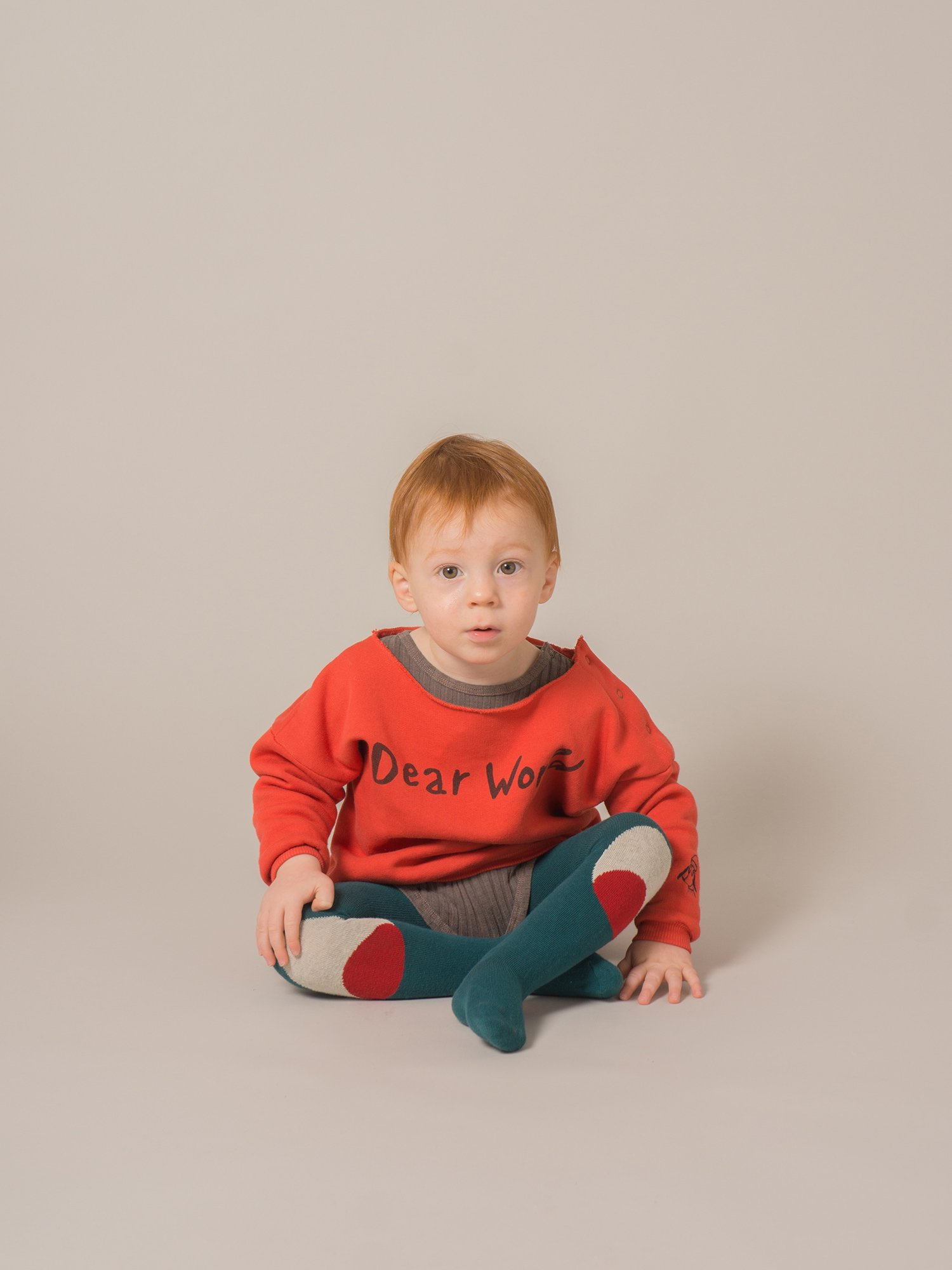 Baby Sweatshirt Dear World