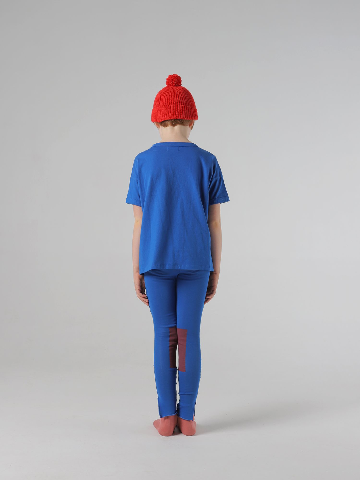 Red Patch Leggings