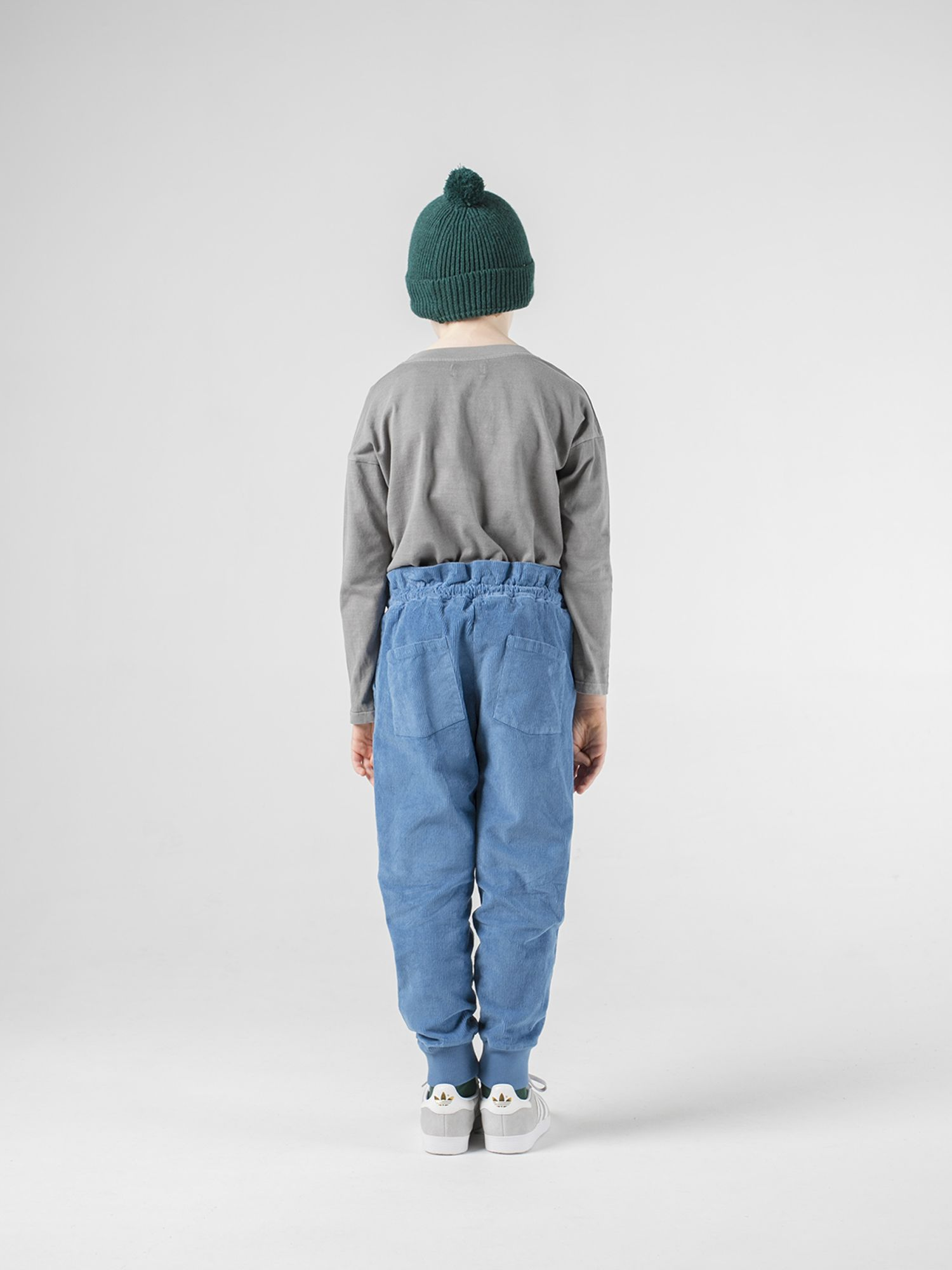 Flag Baggy Pants Kid Look