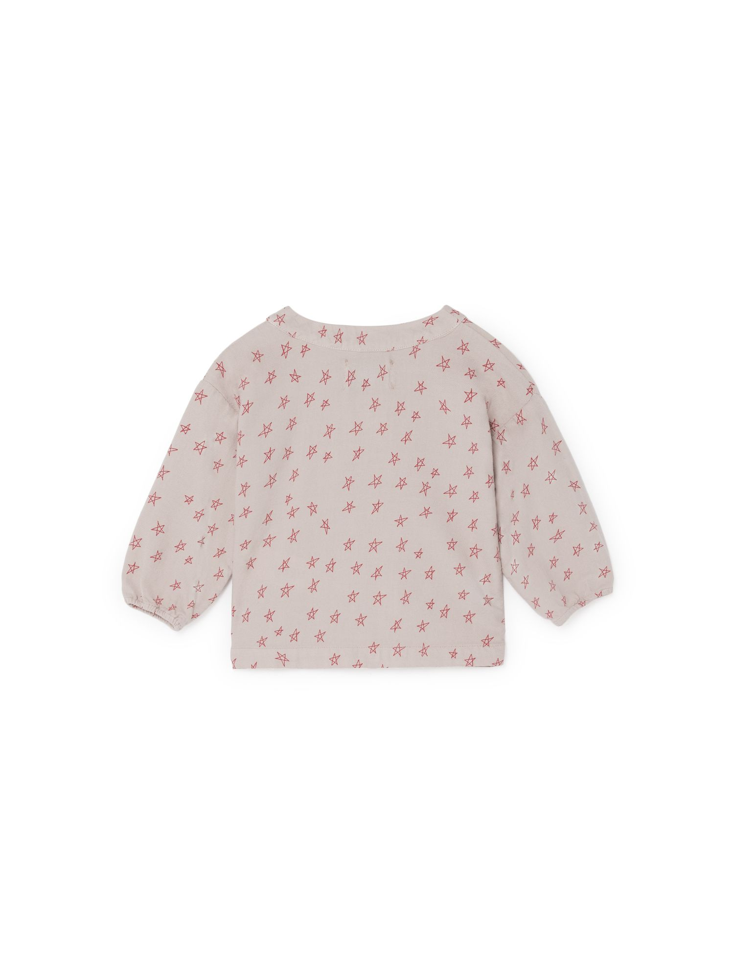 All Over Stars Buttons Blouse
