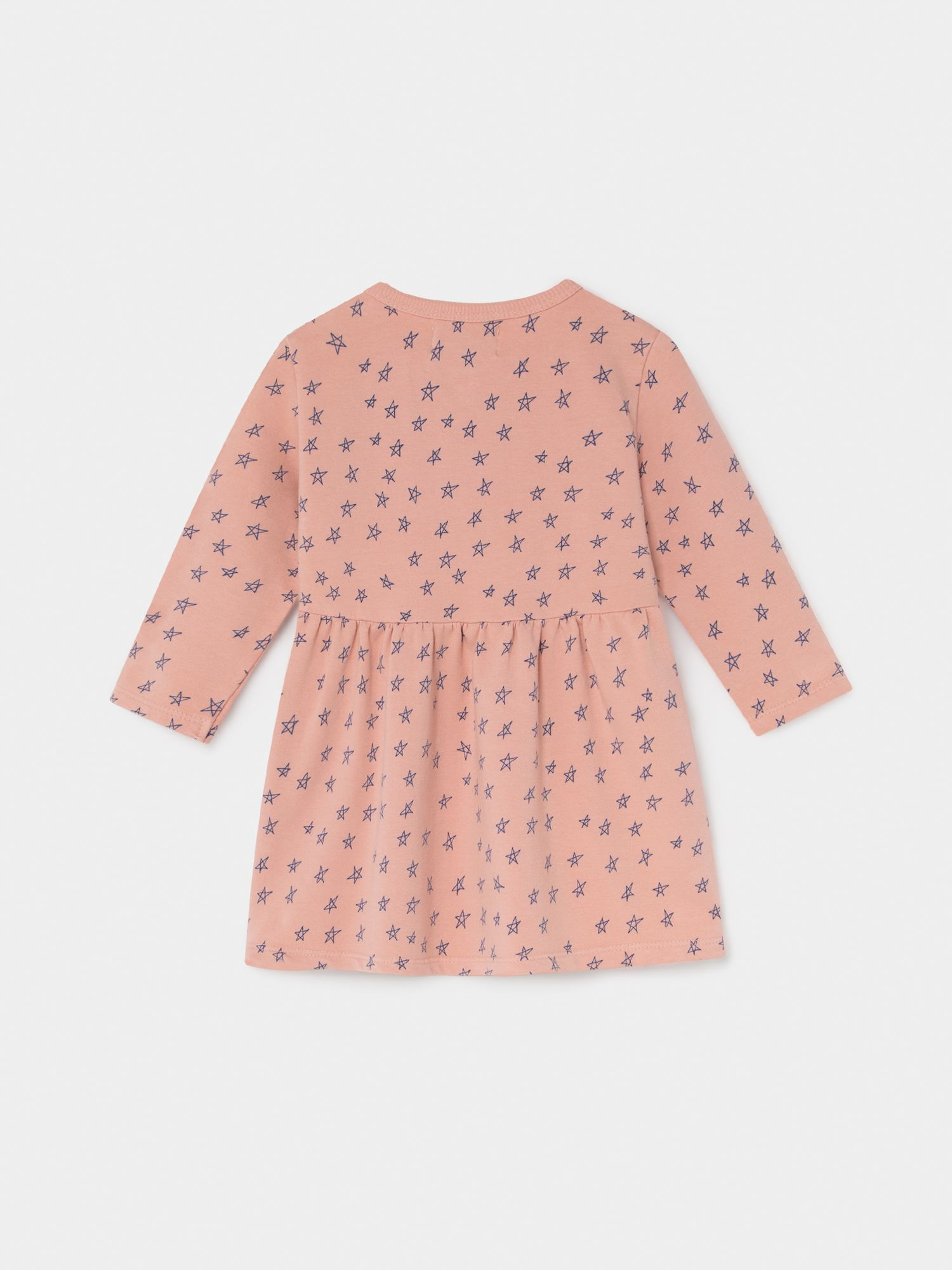 All Over Stars Fleece Dress