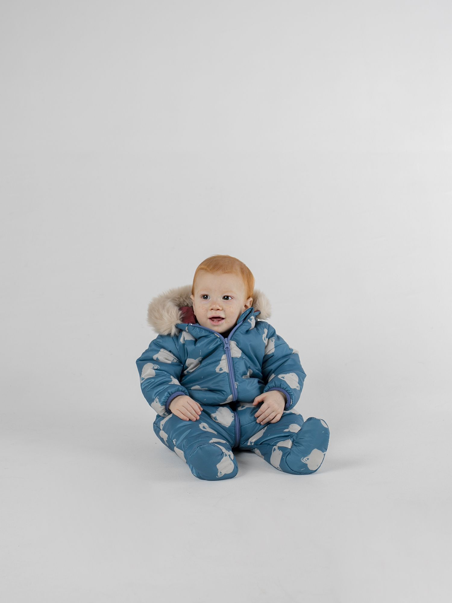 All Over Big Saturn Padded Jumpsuit