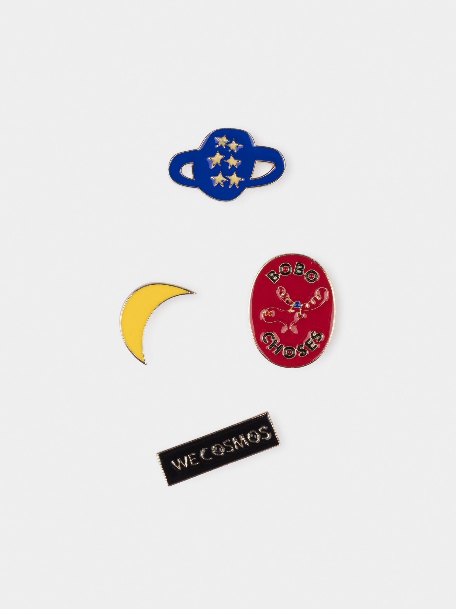 We Cosmos Pins Pack x4