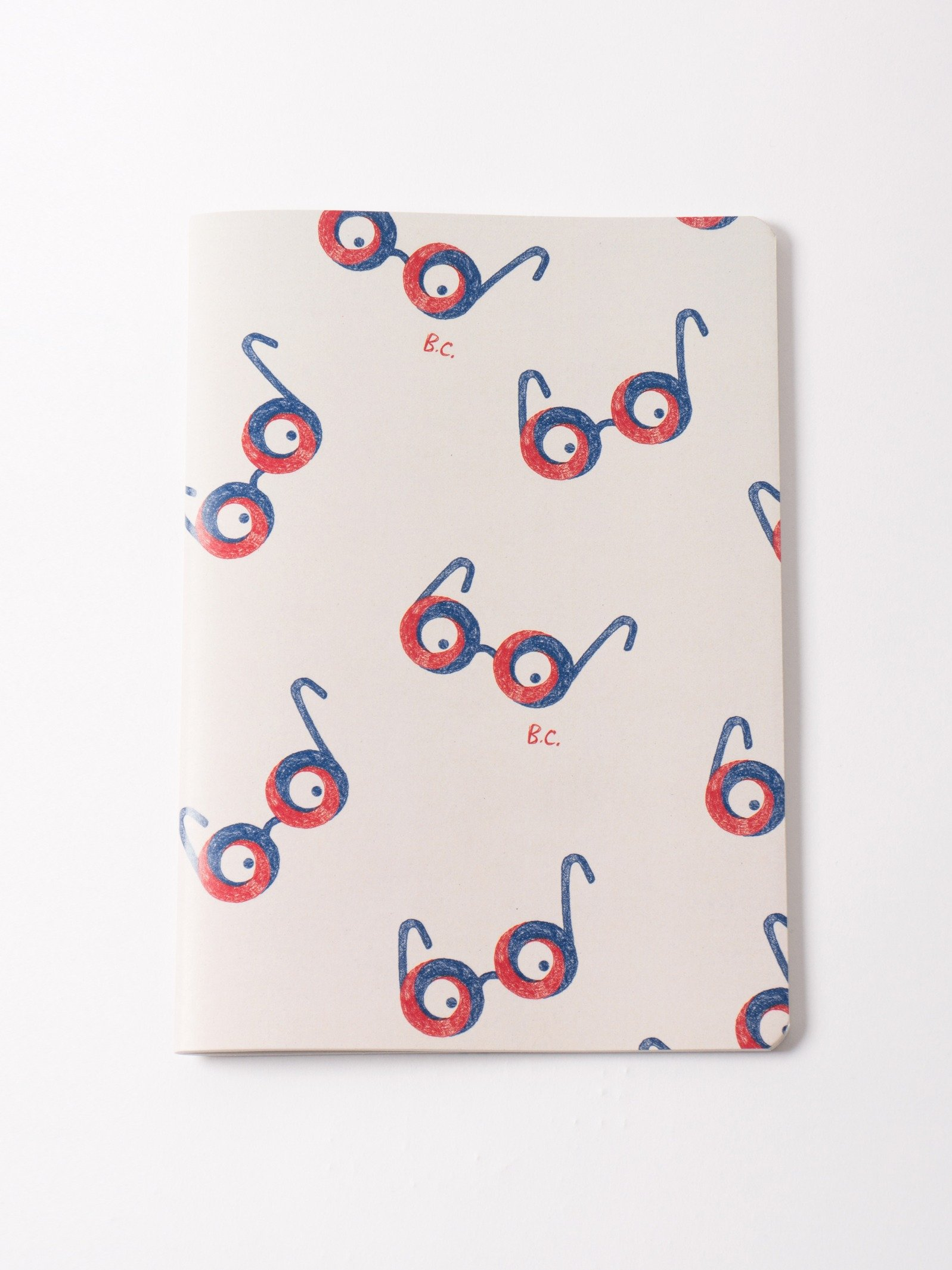 Glasses notebook