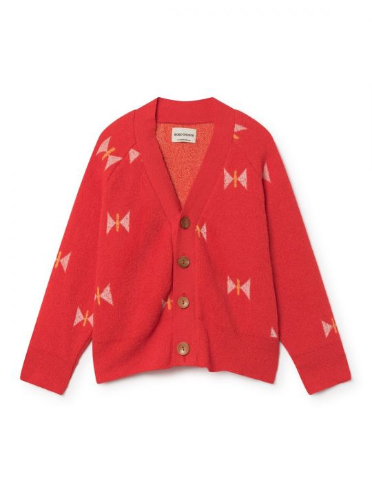 Butterfly Knitted Cardigan