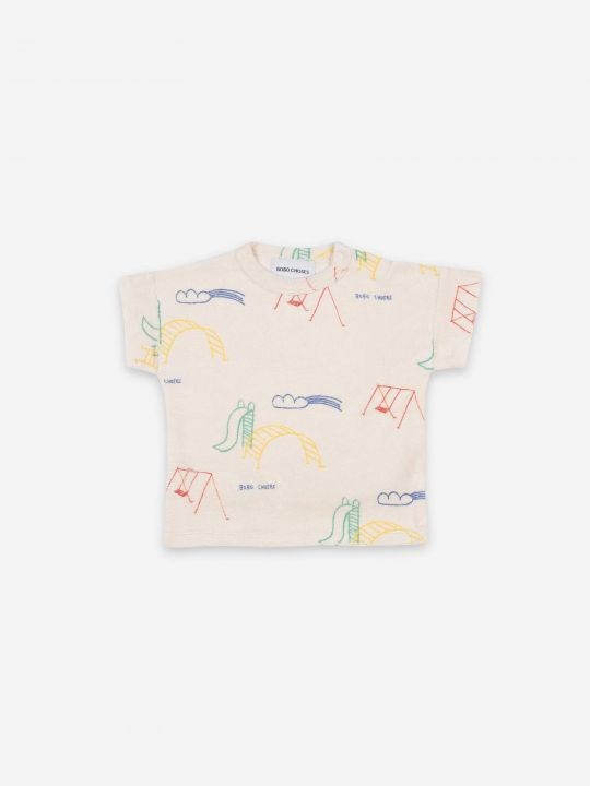 Playground All Over Terry Fleece T-shirt