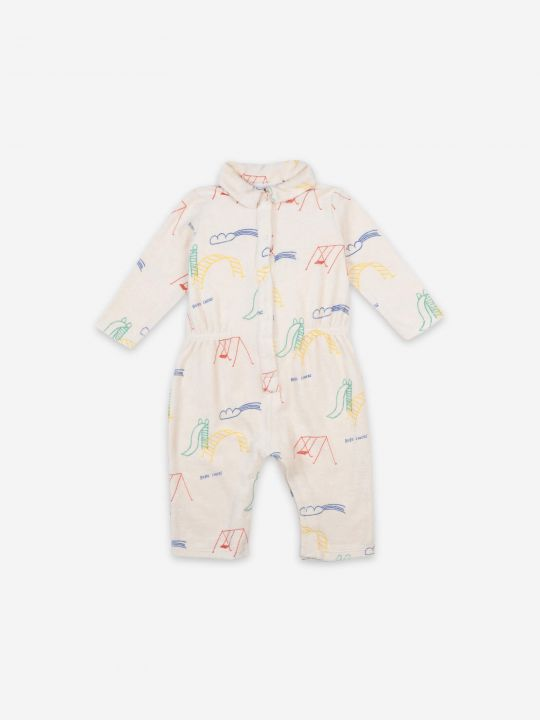 Playground All Over Terry Fleece Overall