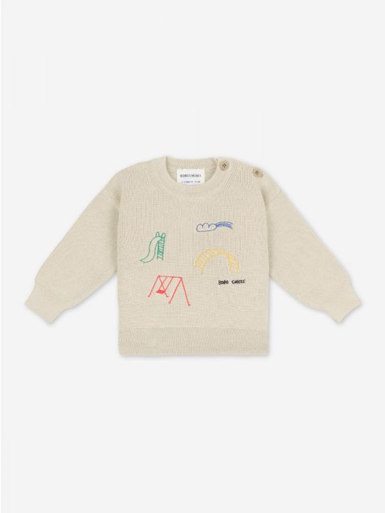 Playground Embroidery Jumper