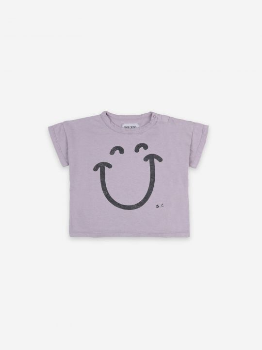 Big Smile Lila Short Sleeve T-shirt