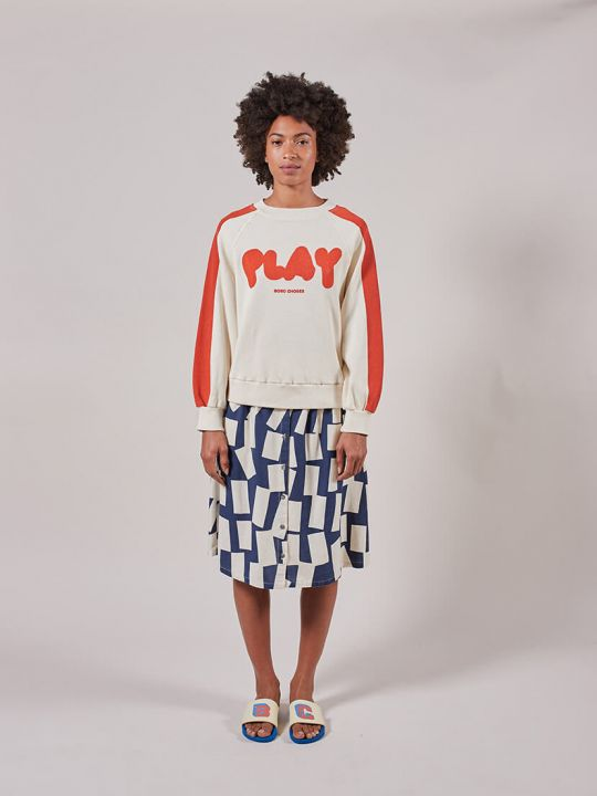 Red Play Sweatshirt