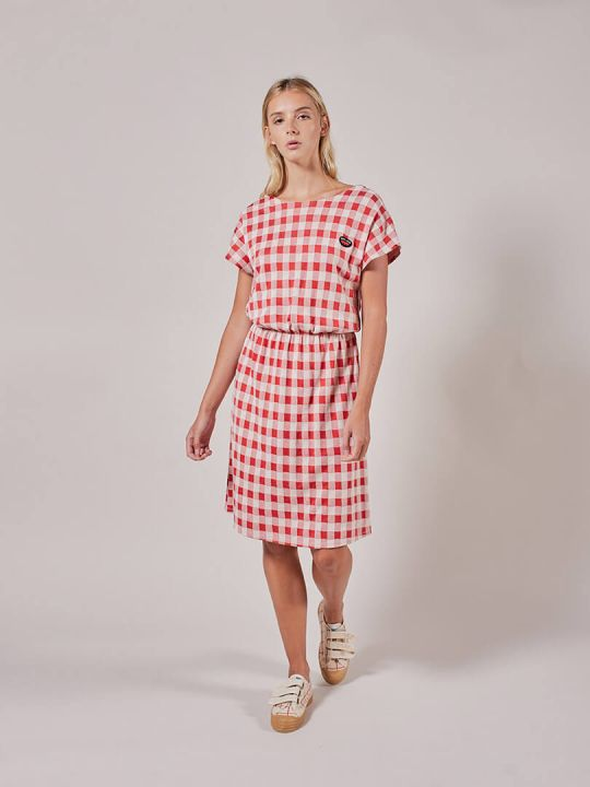 Jacquard gingham Dress