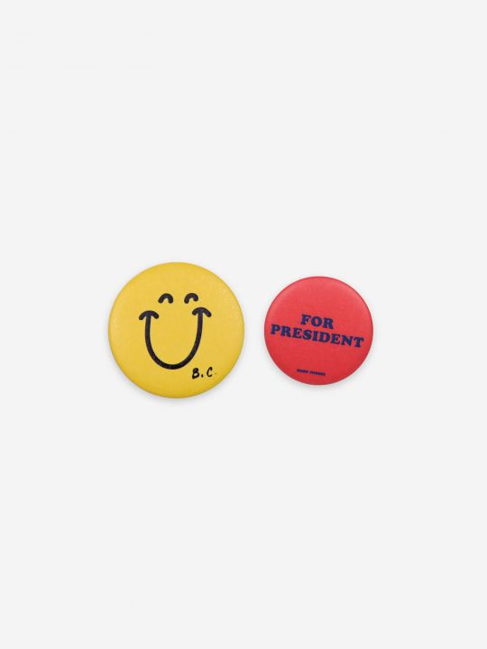 Smile & President Badges