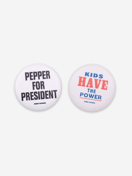 Kidspower & Pepper Badges