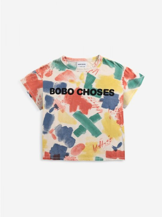 Bobo Choses Painting All Over T-shirt