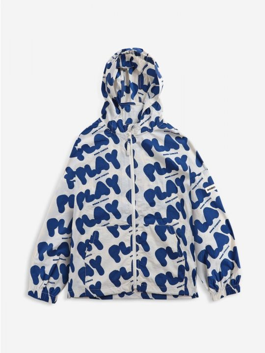 Play All Over rain jacket