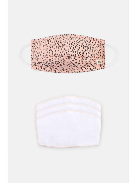 Adult Animal Print Face Mask & Filter Pack