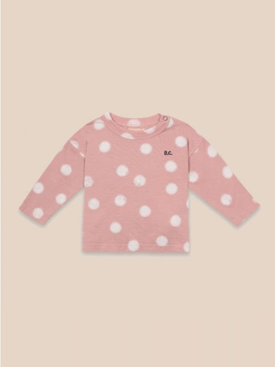 Spray Dots Long Sleeve T-Shirt