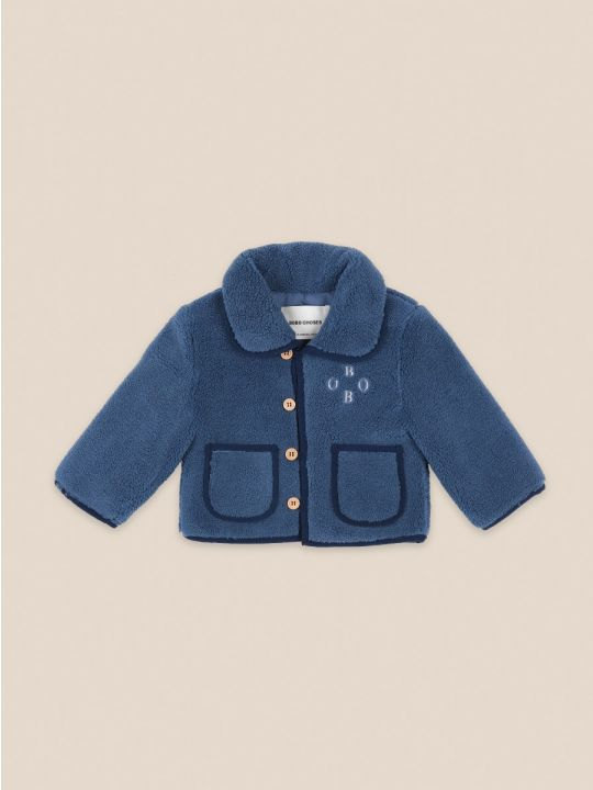 Sheep Skin Baby Jacket