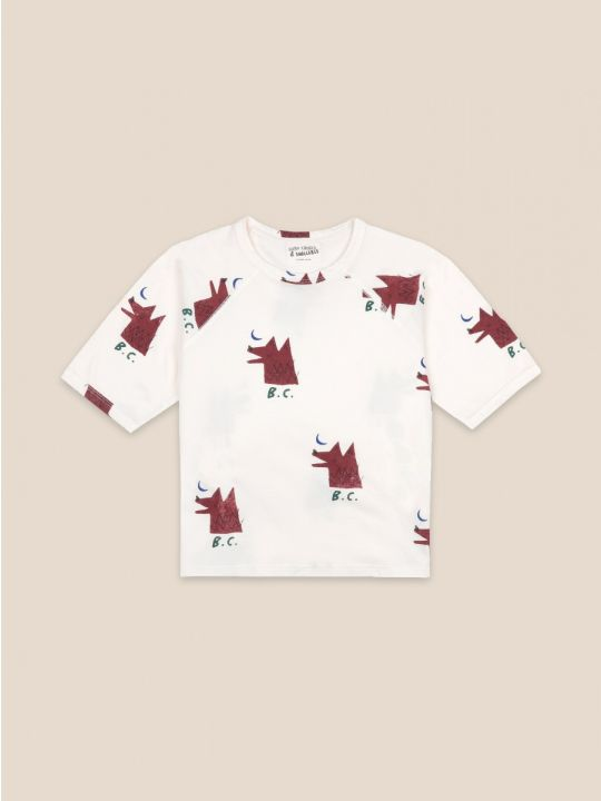 Moon Wolf All Over Short Sleeve T-shirt