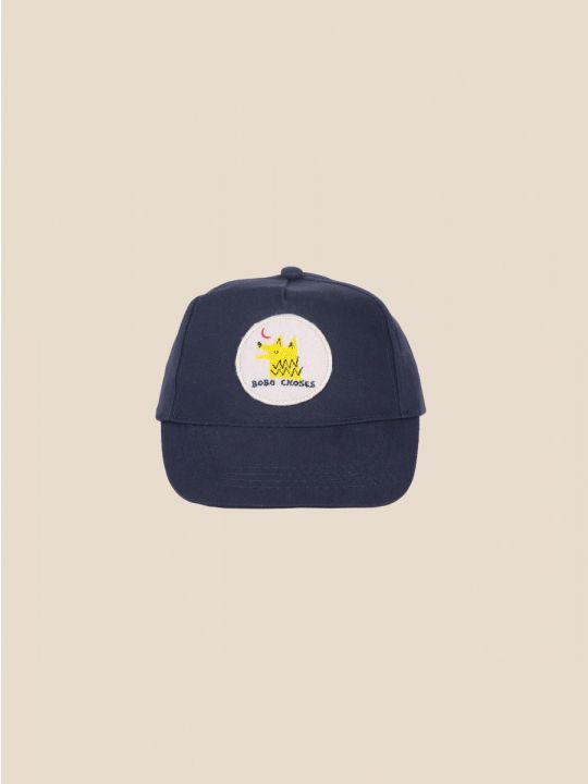 Moon Wolf Patch Cap