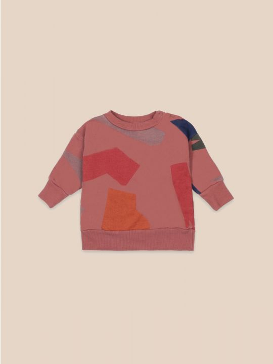 Shadows All Over Baby Sweatshirt