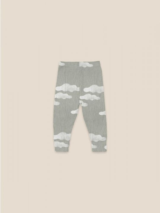 Clouds All Over Baby Leggings