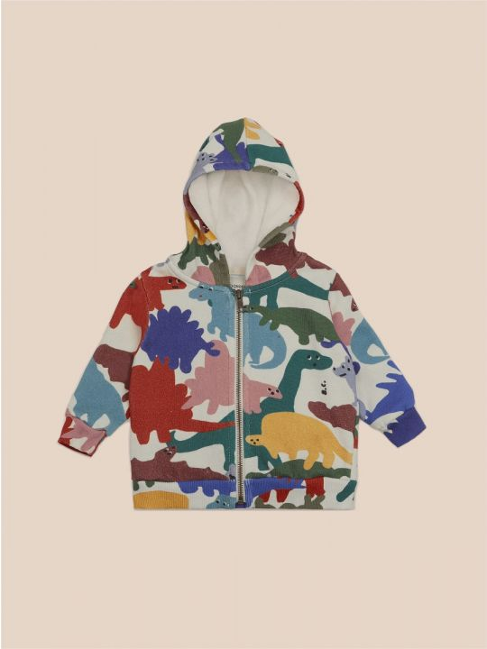 Dinos All Over Hooded Sweatshirt