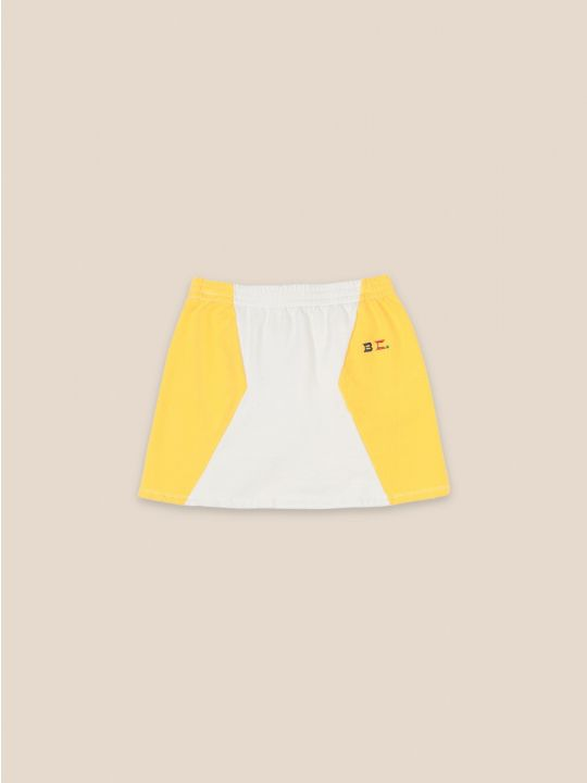 Bicolor Mini Skirt