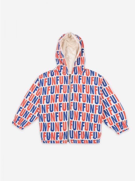 Fun All Over hooded sweatshirt