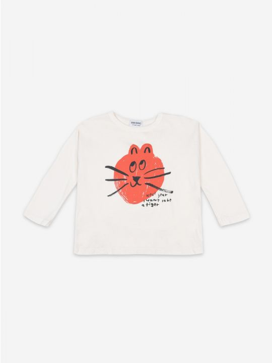 Kid Cat long sleeve T-shirt