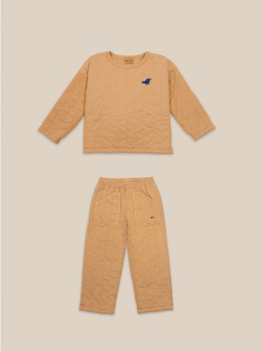 Quilted kid set