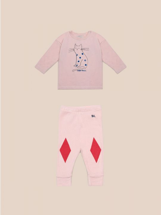 Cat Diamond Baby Set