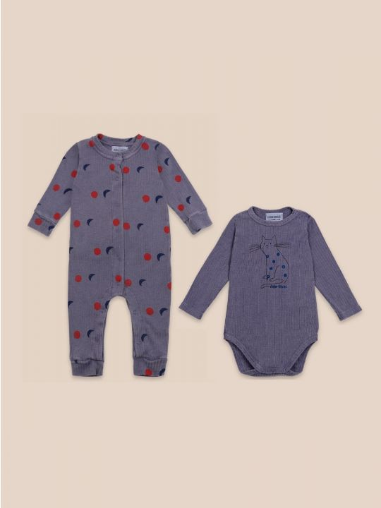 Night Cat Baby Set