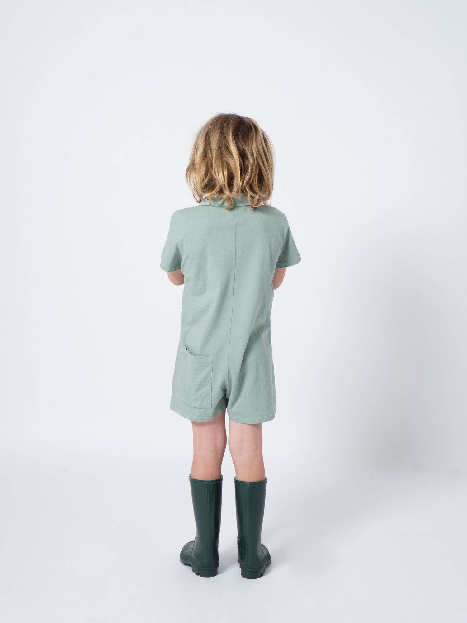 Apple Pockets Playsuit