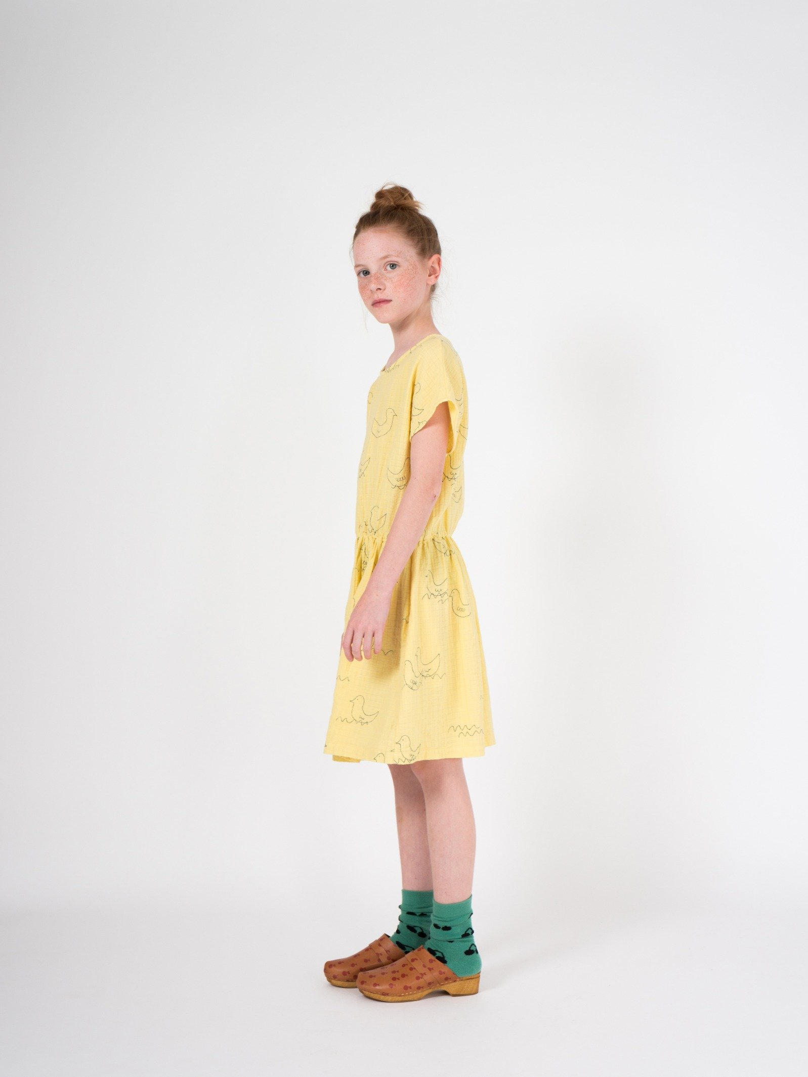 Kid Geese T-Shape Dress Look