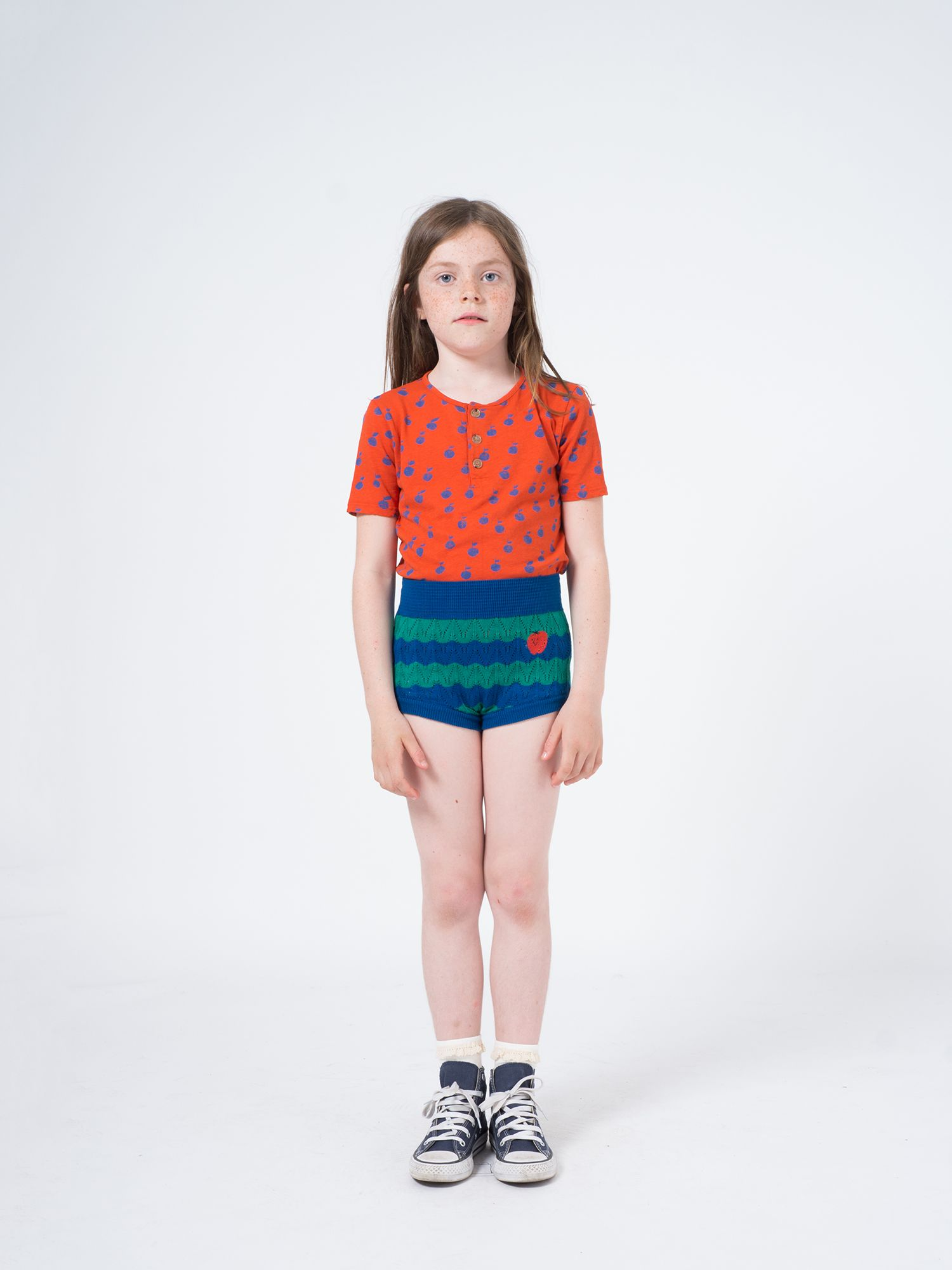 Strawberry Knitted Culotte