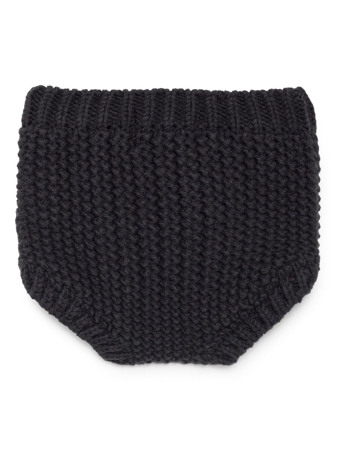 Black Knitted Culotte